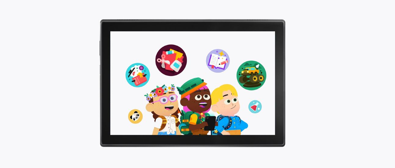 Platforma Google Kids Space v Lenovo tabletoch