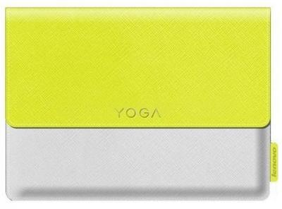 """LENOVO Púzdro Yoga Tab 3 8"""" žlto-biele + Fólia"""