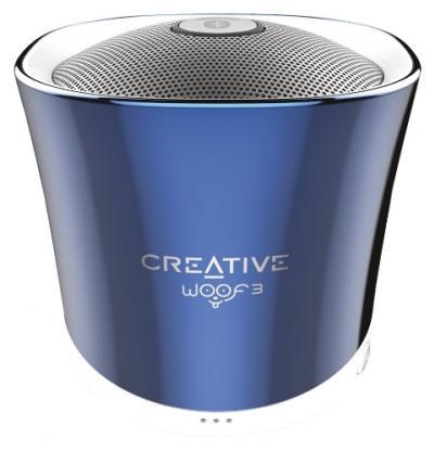 CREATIVE Woof3 bluetooth modrý
