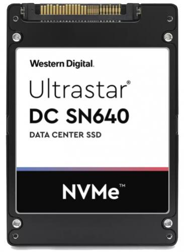 "Western Digital SSD 2,5"" 800GB Ultrastar DC SN640 U.2 PCIe NVMe"