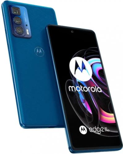 MOTOROLA Edge 20 Pro Blue Vegan Leather