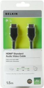 BELKIN HDMI-HDMI 1.4 AV kábel, 1,5m