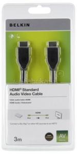 BELKIN HDMI-HDMI 1.4 AV kábel, 3m