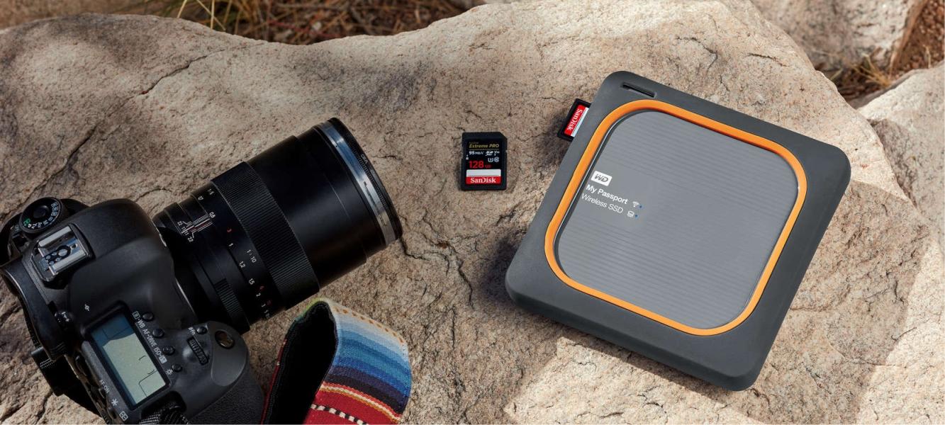Externý disk Western Digital My Passport Wireless SSD