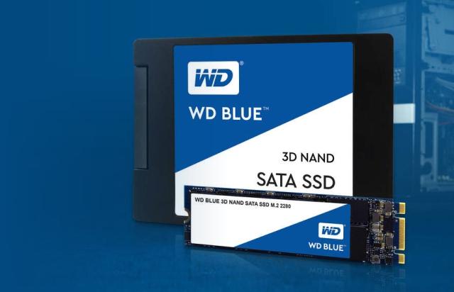 Interné disky WD Blue 3D NAND SATA SSD