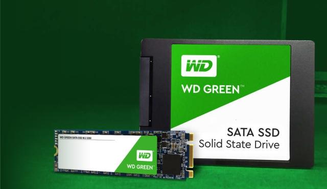Interné disky WD Green PC SSD