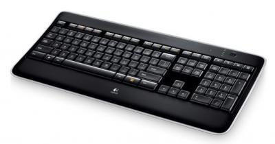 LOGITECH Bezdrôtová klávesnica K800 US