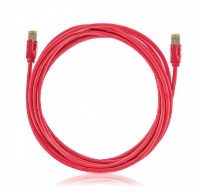 SOLARIX Patch kábel CAT5E SFTP PVC 10m červený