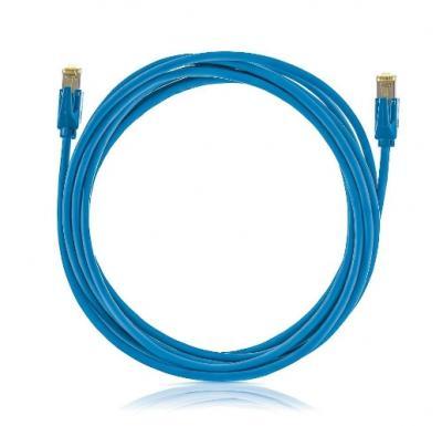 SOLARIX Patch kábel CAT5E SFTP PVC 15m modrý