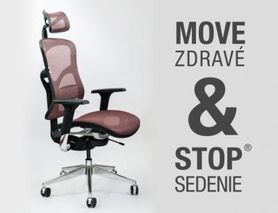Kancelárska stolička SPINERGO Business