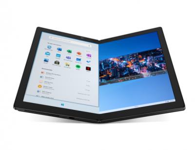 Lenovo predstavilo na CES 2020 notebook s ohybným displejom