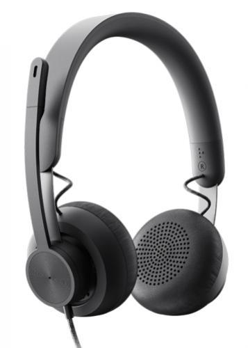 LOGITECH Zone Wired headset a C925e webkamera