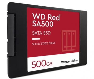 Western Digital SSD 2.5 500GB Red 3D NAND