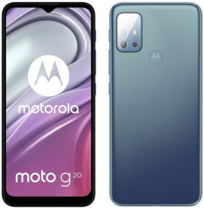 MOTOROLA moto g20 Breeze Blue